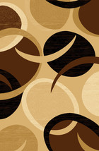 PREMIUM 3D Hand Carved Modern 5x8 5x7 Rug Contemporary 1062 Chocolate Brown - $119.00