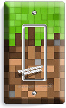 Video Game Pixels Theme 1 Gfci Light Switch Wall Plates Boys Bedroom Room Decor - $11.99