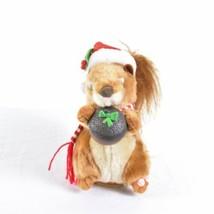 """Gemmy Chipmunk Squirrel 7"""" Sings Nuttin For Christmas - $29.69"""