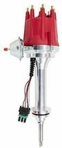 Pro Series R2R Distributor for Mopar Dodge Chrysler BB RB, V8 Engine Red Cap