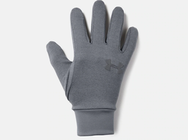 Under Armour Mens Storm Liner Gloves Water Resistant 1318546 Gray XL - $16.92