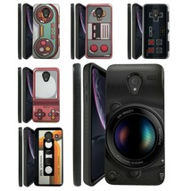 Design Texture Case for Alcatel 1X Evolve, TCL LX, IdealXtra [Dual Layer Case] - $10.79