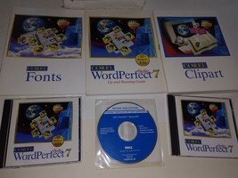 Corel WordPerfect Suite 7 For Windows 3.1x Software & Books - $17.81