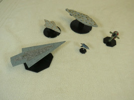 Star Wars Miniatures Starship Battles lot of 5 ships super Star destroye... - $28.70