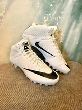 NEW Nike Vapor Speed 2 3/4 TD CF Football Lacrosse Cleats Men's 14 847089-101 - $24.74