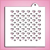 CusCus Double Hearts Pattern Stencil - $9.62