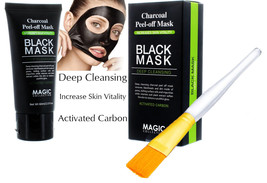 Purifying Black Peel-off Mask Facial Cleansing Blackhead Remover Charcoa... - $8.90+