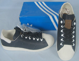 NEW! Adidas & Burton Snowboards Limited Edition 80's Superstar Shoes! Ve... - $69.99