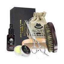 Beard Grooming Care Kit for Men, Beard Scissor, Beard Growth Oil,Beard Balm Leav