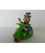 Hanna Barbera 1991 Cindy Bear in Scooter Friction Motor Childs Toy - $4.99