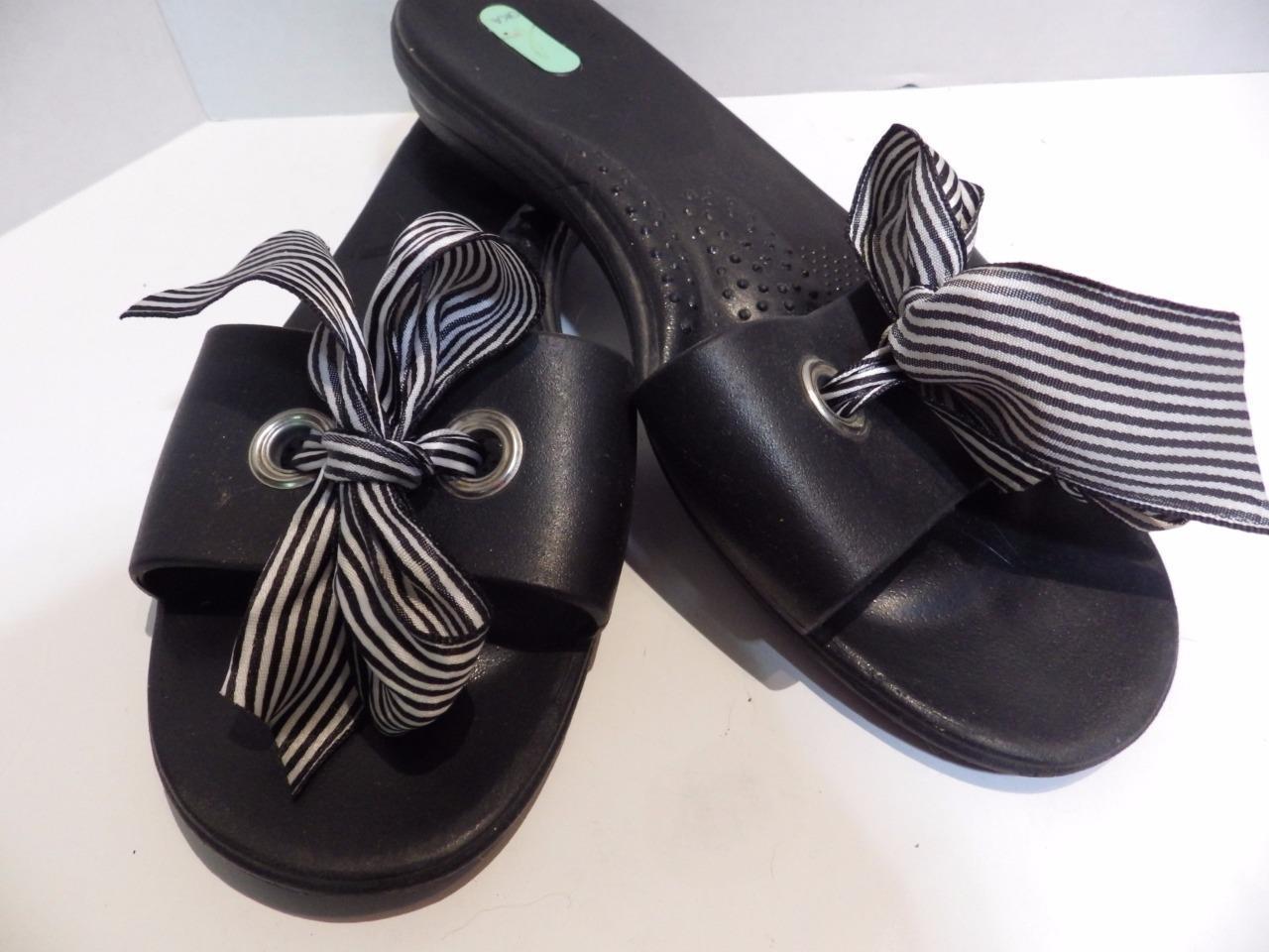 22d5f6a3e7062 Okabashi Oka B Sandal Flip Flop S Ribbon Bow and 50 similar items. S l1600