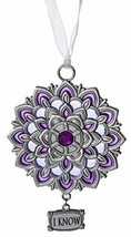 Gnz Attractive Zinc Chakra Ornaments in Your Choice of Style (Crown Chakra, I Kn - $6.88