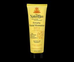 The Naked Bee Facial Moisturizer Everyday SPF 30 2.5 oz Anti Wrinkle Vitamin C image 4