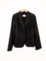 Armani Collezioni Black Blazer, Size 10 - $93.49