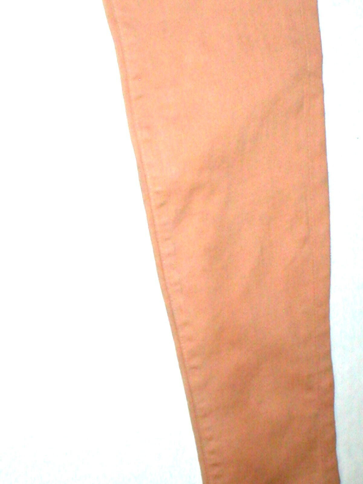 New J Brand Jeans Skinny Womens Coated Peach Leather Mid 26 Tigers Eye Pants USA image 4