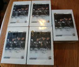 5 Packs SEALED Hockey NHL 1991-1992 Upper Deck Collectors Choice Wayne Gretzky - $91.15
