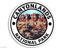 "CANYONLANDS NATIONAL PARK UTAH 4"" USA MADE HELMET TOOLBOX CAR STICKER DECAL - $13.53"
