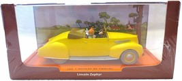 Captain haddock convertible Lincoln Zephyr Voiture Tintin Cars Atlas 1/43 New image 2