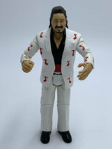 WWE Jimmy Mouth Of The South Hart Action Figure White Red Music Notes 2004 - $19.99