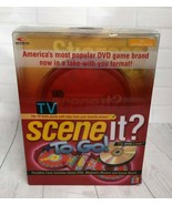 TV Scene it? To Go! Electronic Portable DVD Travel Game NIP 2007 - $14.95