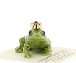 Birthstone Frog Prince February Simulated Amethyst Miniatures by Hagen-Renaker image 6