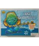 Large Shark Puzzle 50 Pieces Wild Republic EUC 2005 - $21.49
