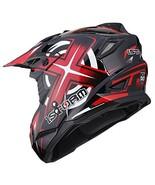 1Storm Adult Motocross Helmet BMX MX ATV Dirt Bike Helmet Racing Style H... - $53.98