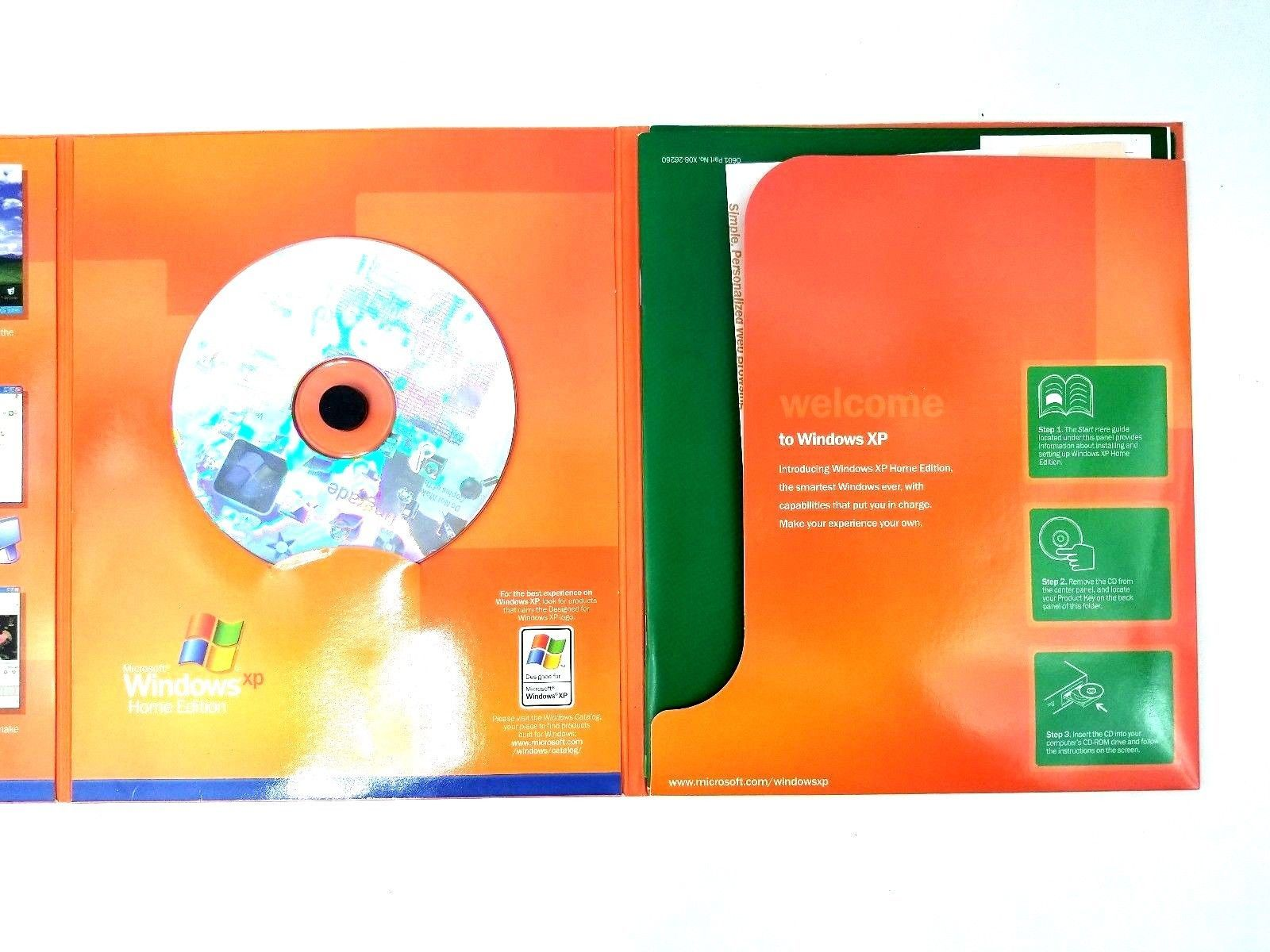 Microsoft WINDOWS XP HOME EDITION Upgrade Version 2002 Software w/ Product Key image 2