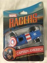 Disney Parks Marvel  Avengers CAPTAIN AMERICA Racer 1/64 Die Cast Car To... - $14.99