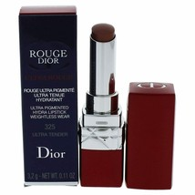 Dior Rouge Dior Ultra Rouge Lipstick - 325 Ultra Tender 0.11 Oz *Swatched* - $16.10