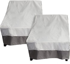 Reusable Revolution 2 Pack Deep Chair Patio Cover - Outdoor Furniture Co... - $51.32