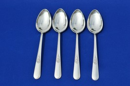 Holmes & Edwards Youth 1940 set of 4 Oval Place/Soup Spoons - $15.84