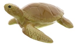Hagen-Renaker Miniature Ceramic Turtle Figurine Sea Tortoise Swimming image 2