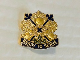 US Military 87th Reserve Support Unit Insignia Pin - Ready to Serve - $10.00