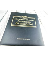 International Tributes to America's Bicentennial Binder Cover Holder - $19.79