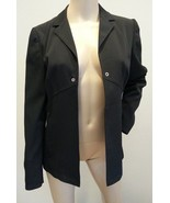 Authentic Prada Milano Italy Black Label Nylon Acetate Open Jacket It 44... - $189.99