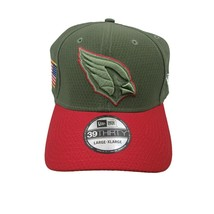 Arizona Cardinals New Era Salute to Service Size Large XL Fitted Hat 39THIRTY - $17.80
