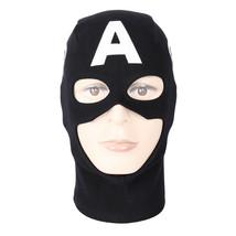Classic Captain America Rogers Helmet Mask Balaclava Hood Hero Cosplay Halloween - $14.36