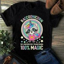 Raccoonicorn 50% Unicorn 50% Trash Panda 100% Magic Unisex T-Shirt - $10.99+