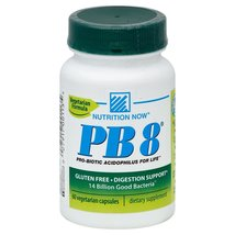 Nutrition Now PB 8 Probiotic Acidophilus Capsules 60 CT (Pack of 2) + (V... - $83.01