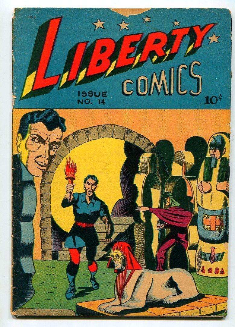 LIBERTY #14-THE PRANKSTER-EL KURAAN-G/VG