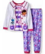DOC McSTUFFINS DISNEY Cotton Snug-Fit Pajamas Sleepwear Set NWT Toddler'... - $11.99