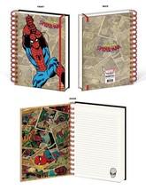 Spider Man Retro Design Marvel Comics Lined Spiral Journal Notebook Lice... - $13.85