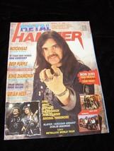 Metal Hammer October 10 1988 Motorhead Bon Jovi Deep Purple King Diamond... - $19.99