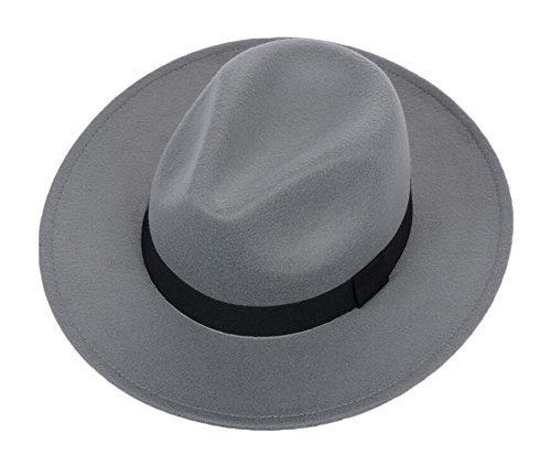 458e7d84e Wide Brim Wool Fedora Panama Hat with Band and 50 similar items