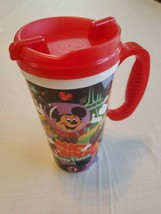 Disney Parks Mickey Mouse Club Travel Drink Beverage Tumbler (red) - $4.94