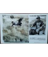RICKY GONZALEZ for HartandHuntington Ink Rock Moto Promo Poster, 11x17, new - $9.95