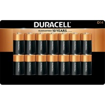 Duracell CopperTop D Alkaline 1.5 V Batteries - 14 count - $39.59