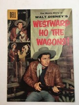Walt Disney's Westward Ho The Wagons! Dell #738 1956 Four Color Fc Vtg Comic - £17.71 GBP