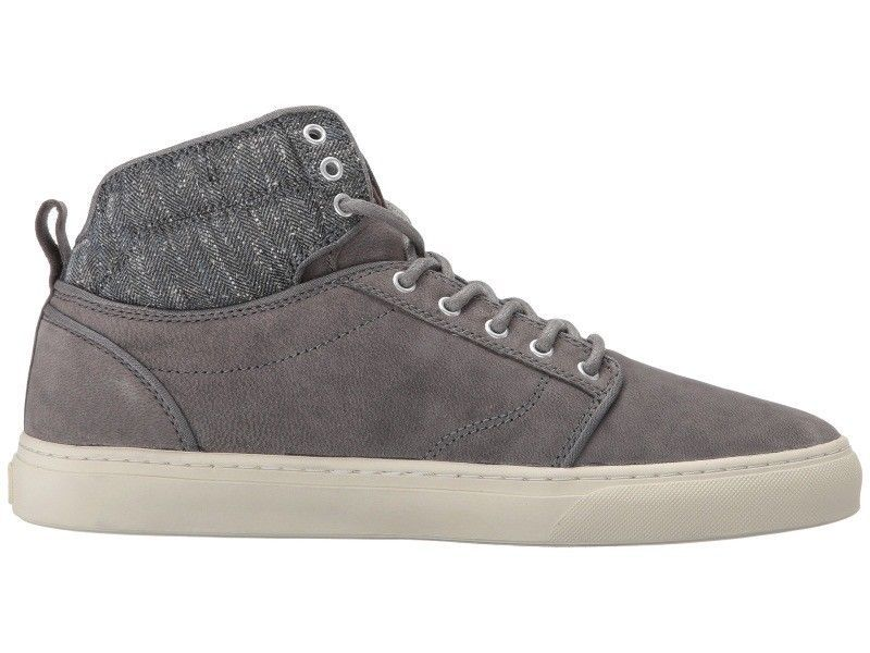 VANS Alomar (Tweed) Gray UltraCush Leather Skate Shoes MEN'S 8 image 3